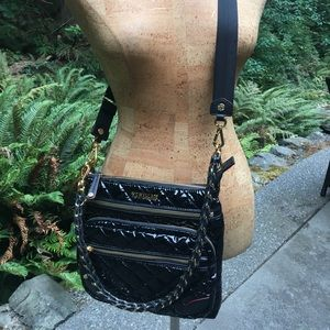 c22bcee31e MZ Wallace Bags - MZ Wallace Downtown Crosby Crossbody Black Lacquer
